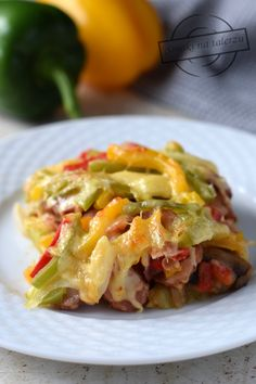 Oven Dishes, Polish Recipes, Polish Food, Kielbasa, Casserole Recipes, Lasagna, Sausage, Kitchen Design, Food And Drink