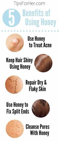 5 Benefits of Using Honey