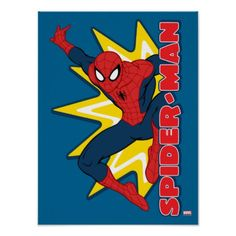 Spider-Man Callout Graphic Poster - click to get yours right now!