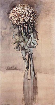 Chrysanthemum, Piet Mondrian