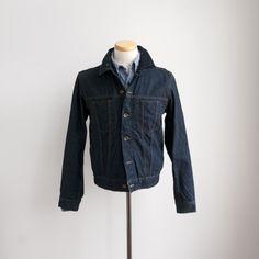 Engineered Garments - Type 5 Jean Jacket - Indigo Red Selvage Denim - Indigo & Cotton