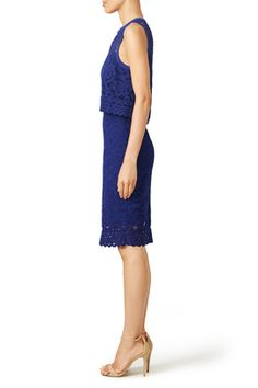 Betsy Lace Sheath by Saylor - rent the rentway - kel?