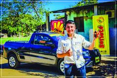 GANADOR de la VW Saveiro, Carlos Milciades Paez Cabaña de la ciudad de Alberdi. Sorteo: 27-07-2017