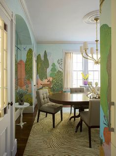 New Projects - traditional - Dining Room - Boston - Heidi Pribell Interiors
