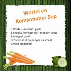 Cucumber and carrot soup