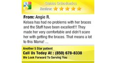 Kelsea has had no problems with her braces and the Staff have been excellent!!! They made...