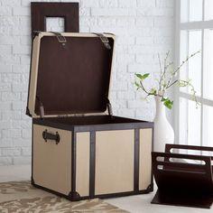 Explorer End Table  Storage Trunk  $79.98