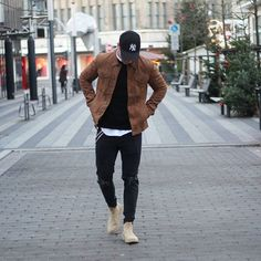 @tomtailor_official Jacket @zara Strickpulli  @hm Hemd @zara Jeans @zign Chelsea Boots