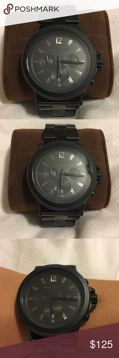 Michael kors women's watch Michael kors women's watch. Black, oversized. Worn once. Comes with extra links. Michael Kors Accessories Watches