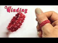 Macrame tutorial - how to make the Wingding - easy simple ring - Hướng .