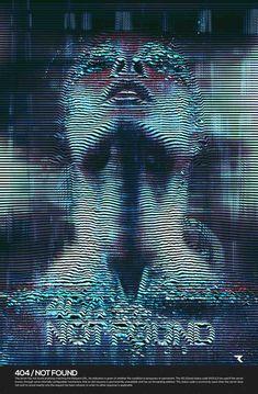 25 Amazing Examples Of Glitch Typography – Web & Graphic Design on Bashooka Design Poster, Design Art, Arte Cyberpunk, Steampunk, Futuristic Design, Futuristic Interior, Wow Art, Glitch Art, Visual Effects