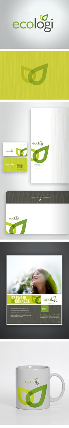 ecologi Branding by Hector Batista, via Behance