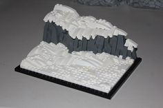 https://flic.kr/p/UB9u2Q | LEGO Snow Tutorial | Read Isaac's tutorial on our website innovalug.com/post/119/snowscaping-tutorial