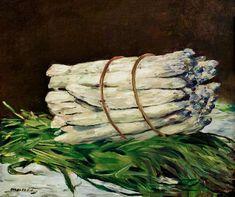 Edouard Manet - Botte d'asperges (Spargelstillleben)