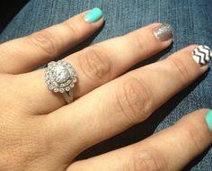 Gabriel, White Gold Engagement ring