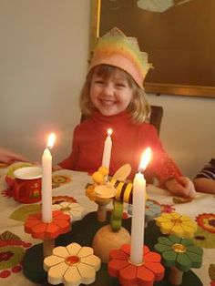 Birthdays with our Waldorf homeschool group