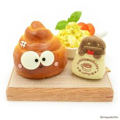 When you're feeling down, or preferably, like poo,this bread is the perfect thing to eat to lift up your spirits.