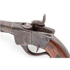 Two-Digit Sharps First Type Breechloading Pistol
