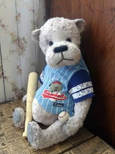 BOO BOO - the dreamer about baseball. by By Anna Rudenko | Bear Pile