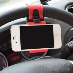 Encontrar Más Soportes Información acerca de Del volante del coche montaje cinta de goma para el iPhone iPod MP4 GPS teléfono móvil titulares 01SZ, alta calidad ruedas OEM, China ruedas de América Proveedores, barato banda de equipo de Donge Jia's store en Aliexpress.com
