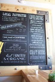 Hasil gambar untuk chalkboard coffee menu colour