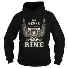 I Love RINE RINEYEAR RINEBIRTHDAY RINEHOODIE RINENAME RINEHOODIES  TSHIRT FOR YOU Shirts & Tees