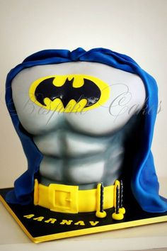 Want Great Abs? Try Fighting Crime!  made by Bespoke Cakes