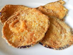 melanzane impanate fritte #ricettedisardegna #recipe #sardinia Cooking Time, I Foods, Apple Pie, French Toast, Muffin, Breakfast, Desserts, Dolce, Be Nice