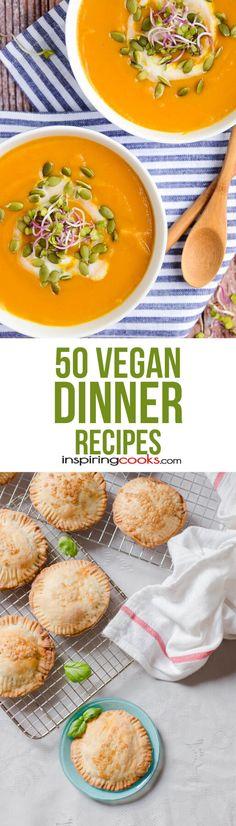 50 Vegan Dinner Recipes Part 2