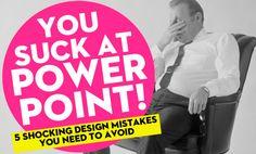 5 главных ошибок при создании бизнес-презентаций