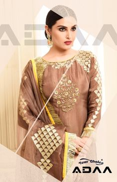 Buy Your Choice Adaa Jam Silk Cotton Sarara Style Singles Salwar Kameez  Collection Wholesaler In India. 7706b3e20e