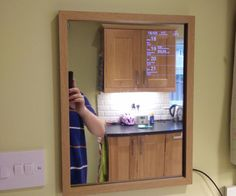 "We decided that we needed a mirror in our kitchen, and I was also conscious that my family uses their smartphones to check weather, calendar appointments etc before getting the children ready and heading out for the day.I had found numerous great examples of smart mirror tutorials and articles on the web, and I decided to see if I could improve on them using my existing skills as a web developer and some spare kit I had in a drawer (and original Nexus 7).I also wanted the ""smart"" b..."