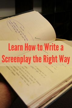 The truth about writing a screenplay is that it can be timely and difficult, so we're giving you a FREE, exclusive webinar on How to Write a Screenplay to assist you! #screenwriting #writingtips