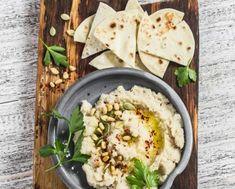 Recetas de humus: humus de coliflor Canapes, Pesto, Catering, Salsa, Sandwiches, Food And Drink, Menu, Cooking, Ethnic Recipes