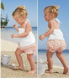 Free Shipping Baby Summer Clothing Set Gallus Shirt Ruffles Pants Dress
