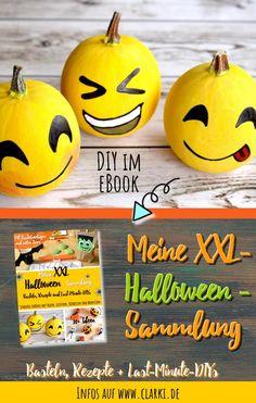 In diesem eBook findest du schaurig schöne Rezepte, gruselige Bastelanleitungen sowie monsterstarke Last-Minute-DIYs rund um die Themen Halloween, Kürbis, Geister, Hexen und Monster. Die Rezepte und Bastelideen eignen sich zum Beispiel für Halloween, Kindergeburtstage, Buffets und ähnliche Veranstaltungen.   #halloween #rezepte #funfood #kinder #basteln #party #werbung #affiliate #buch #ebook #herbst #fest Halloween Schmuck, Last Minute, Halloween Diy, Fruit, Buffets, Monster, Party, Halloween Kids, Buffet