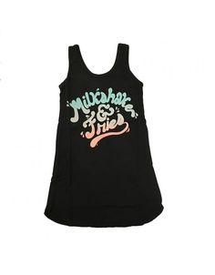 Tiny Whales Milkshake & Fries Tank Dress