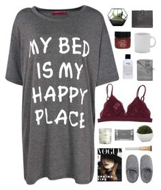 """""""Untitled #563"""" by amy-lopez-cxxi ❤ liked on Polyvore featuring Boohoo, Sofia Cashmere, H&M, philosophy, Crate and Barrel, Serge Normant, Natori, Eve Lom, Dermalogica and Smythson"""