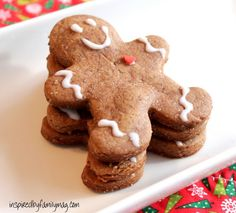 soft gingerbread cookie recipe with icing recipe to decorate them with.