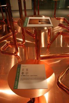 """Premiazione ed esposizione dei progetti vincitori del concorso """"Il rame e la casa 2010"""", presso lo spazio Material ConneXion alla Triennale di Milano. (Foto: Enza Tamborra)"""