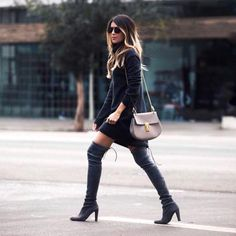 tall boot babe