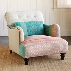 I can't get enough of these chairs! I just want to snuggle up in one with some hot tea and a good book :)