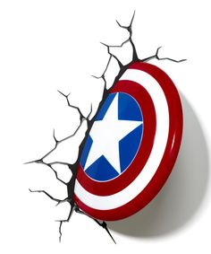 Captain America Shield 3-D Light