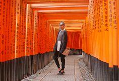 Travel Diary: Fushimi Inari Taisha - Camille Tries to Blog Camille Co, Fushimi Inari Taisha, Japan Travel, Fashion History, Travel Style, Fashion Models, Angeles, Stylists, Winter Jackets