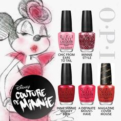 Couture de Minnie by OPI is now available at Jolie!