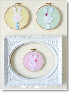 Make A Custom Felt Bunny Family