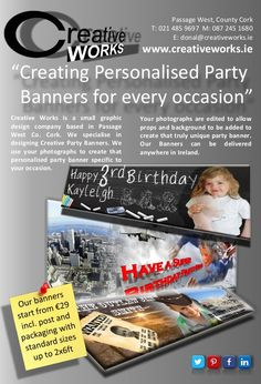 Creative Works Flyer Promotional Flyers, Party Banners, Creative Words, It Works, Nailed It