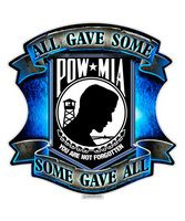 """All Gave Some Some Gave All POW MIA /"""" Truck Rear Window Graphic/"""""""