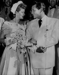 Lucille Ball and Desi Arnaz Wedding  1940