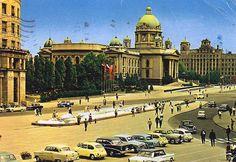 Parliament building, Belgrade, Serbia  Zgrada skupštine, Beograd, Srbija